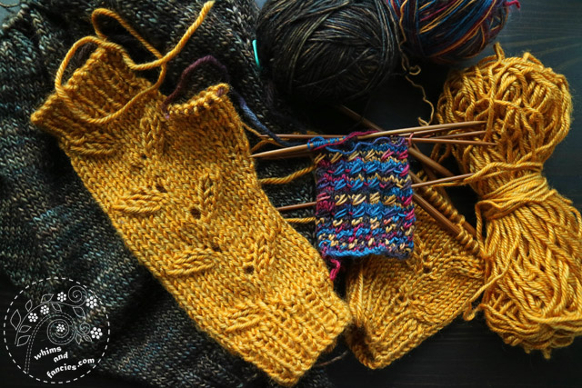 Knitting WIPs | Whims And Fancies