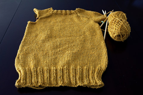 Oatmeal Pullover WIP | Whims And Fancies