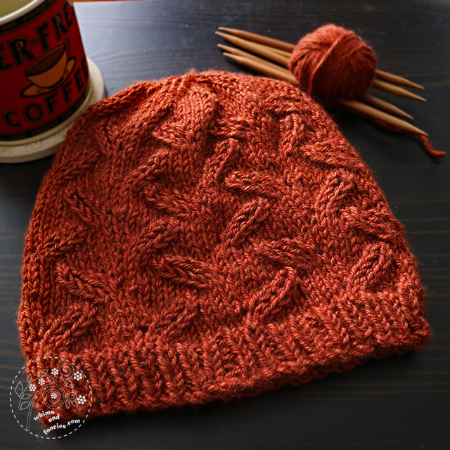 Harvest Hat Knitting Pattern | Whims And Fancies