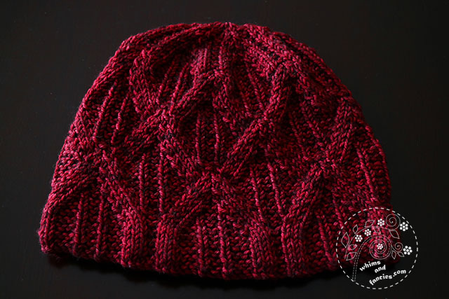 Paragon Toque Knitting Hat Pattern | Whims And Fancies