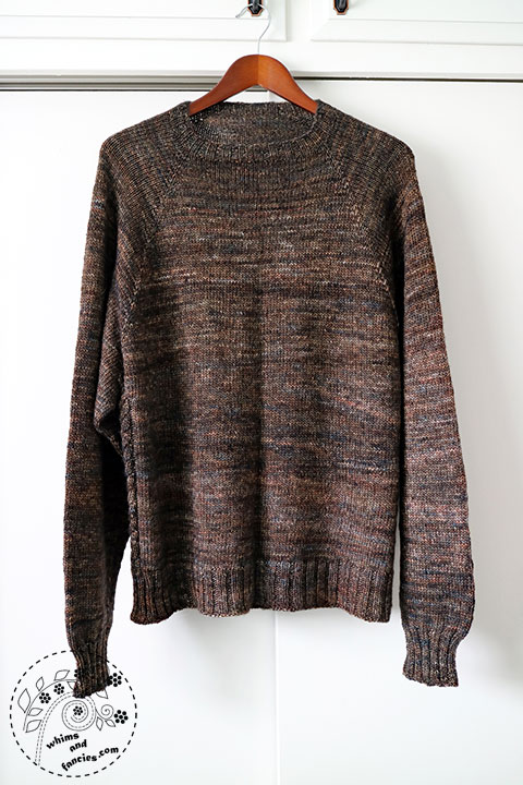 Men's Knitted Pullover Pattern | Whims And Fancies