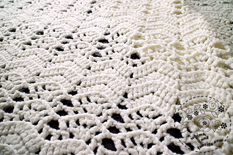 Crochet Lace Blanket | Whims And Fancies