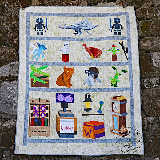 Lego Harry Potter Quilt | Whims And Fancies