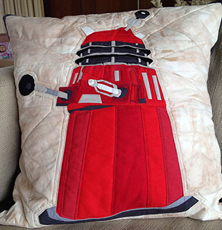 Doctor Who Dalek Quilt Pattern