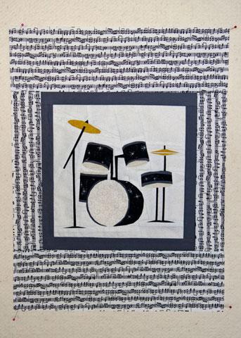 Drums Quilt Pattern