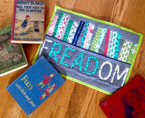Freedom Quilt Pattern , mini made by Susie from Susie's Sunroom| Whims And Fancies