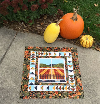Autumn Harvest Quilt Pattern | Whims And Fancies