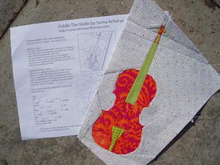 Violin Quilt Pattern