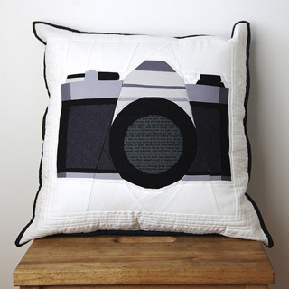 SLR Camera Quilt Pattern | Whims And Fancies