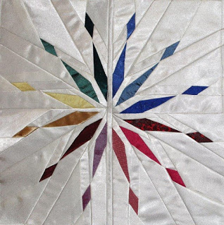 Starlight Diverging Star Quilt Pattern | Whims And Fancies
