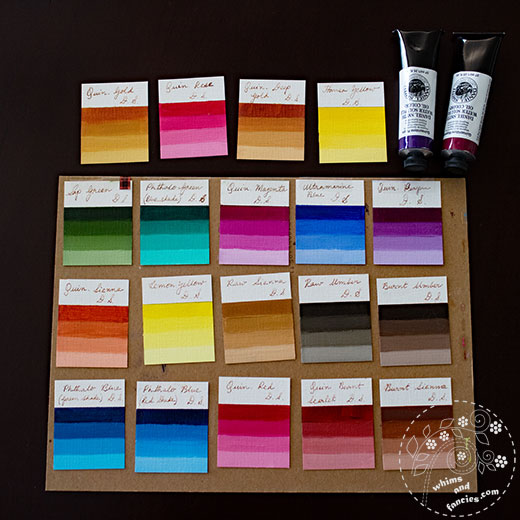 Daniel Smith Water Soluble Oil Paints | Whims And Fancies