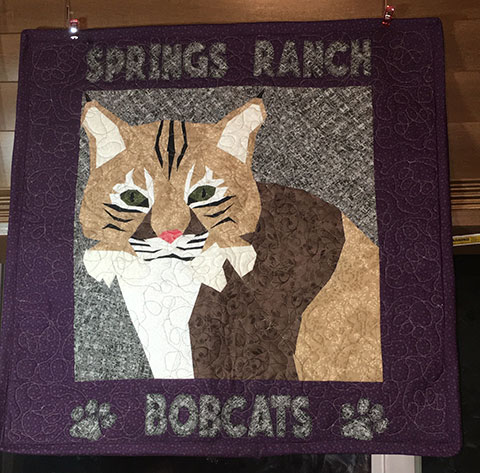 Bobcat Big Cat Quilt Pattern | Whims And Fancies