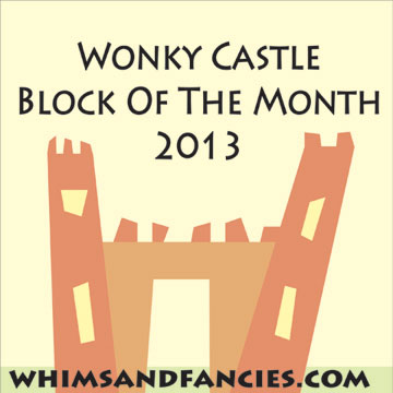 Wonky Castle Block Of The Month - Paper Piecing Patterns