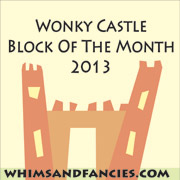 Wonky Castle Block Of The Month