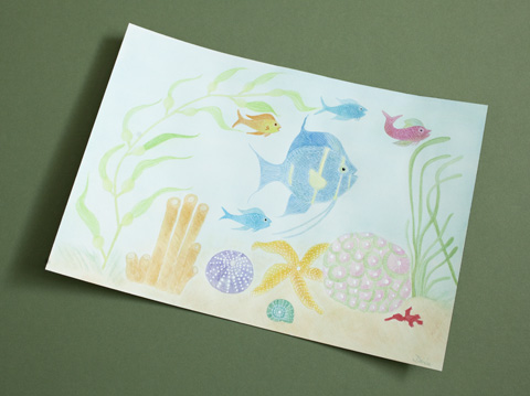 Seascape by Dixie from Arranged Words | Whims And Fancies