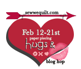Hugs And Kisses At Sew We Quilt