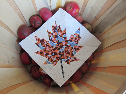 Fall Maple Leaf Quilt Pattern