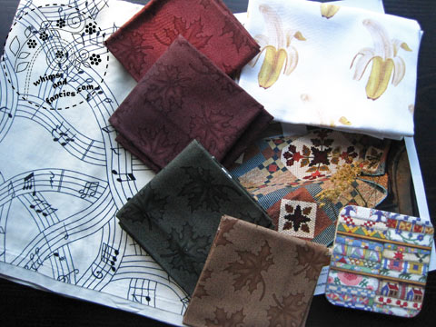 Fall Fabrics Package | Whims And Fancies
