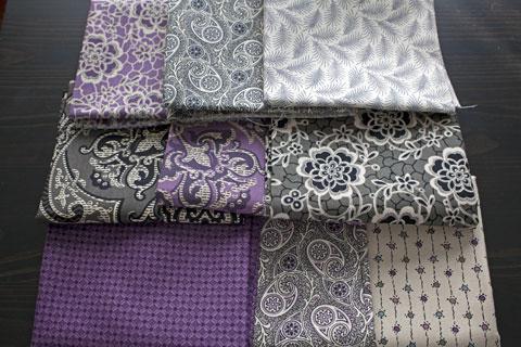 Downton Abbey Fat Quarter Fabrics
