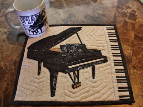 Crochet Pattern For Piano Afghan : PIANO QUILT PATTERNS My Quilt Pattern