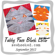 Tabby Face Block Lotto