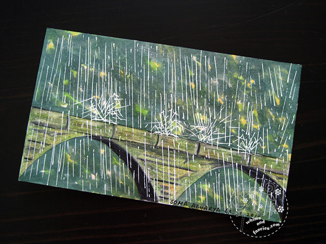 Downpour Rain Painting | Whims And Fancies