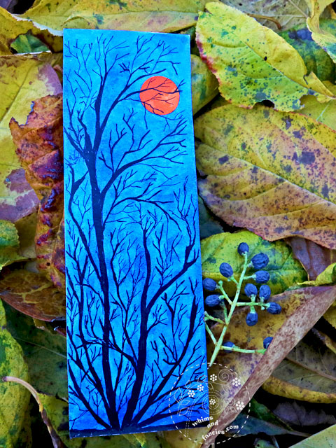Eclipse Tree Ink Painting | Whims And Fancies