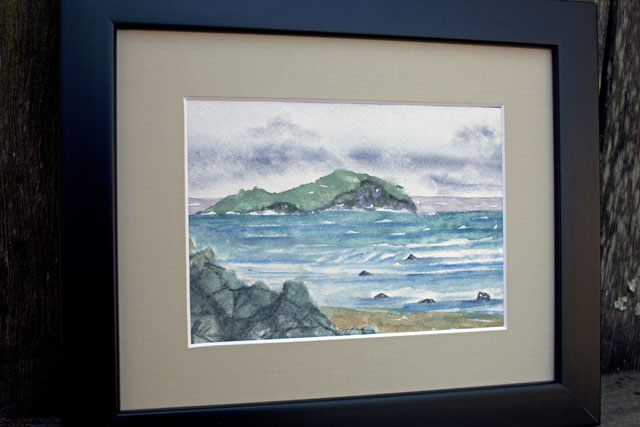 North Sea Watercolour Painting | Whims And Fancies