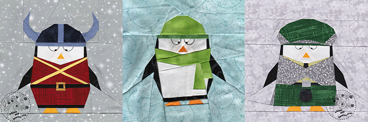 Penguin Quilt Patterns | Whims And Fancies