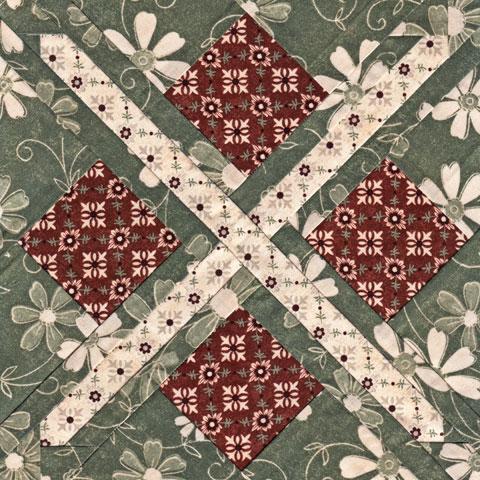Argyle Star Quilt Pattern