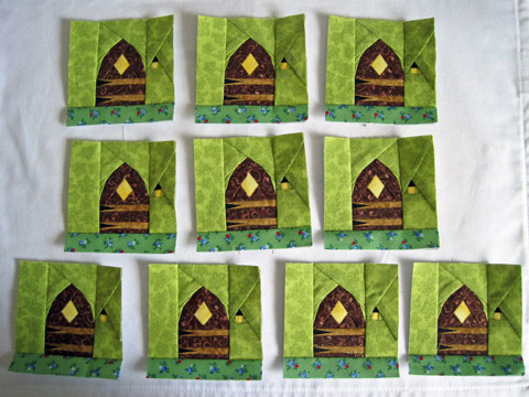 Magic Fairy Door Quilt Pattern