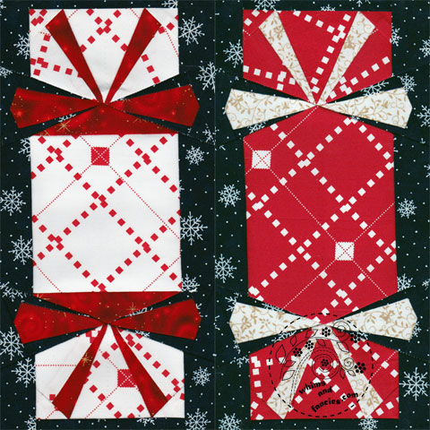 Holiday Crackers Quilt Pattern | Whims And Fancies