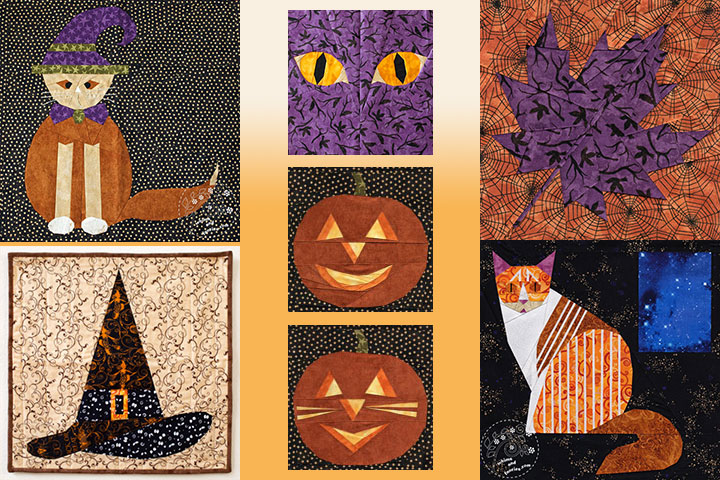 Fall And Halloween Quilt Patterns | Whims And Fancies