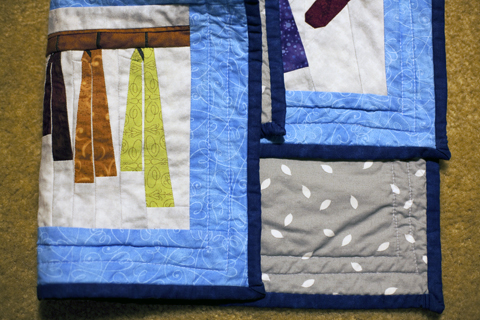 Mini Quilt - Winter Accessories with Paper Piecing - Socks, Gloves, Hats and Scarves