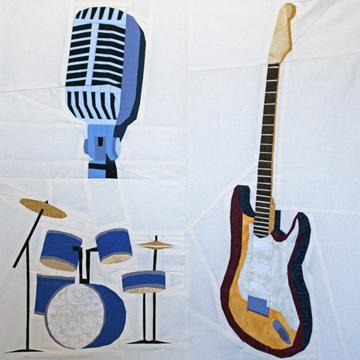 Music Instruments Quilt