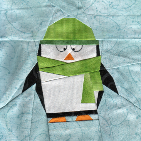 Penguin Quilt Pattern | Whims And Fancies