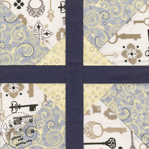 Pinwheel Quilt Pattern | Whims And Fancies
