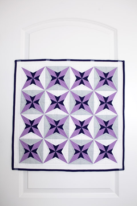 Purple Star Quilt Pattern