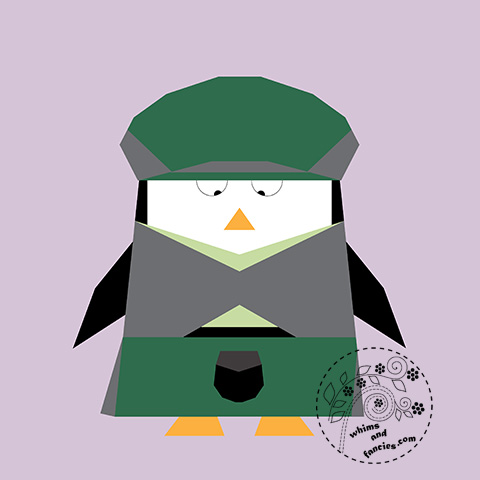 Scottish Penguin Glen Quilt Pattern | Whims And Fancies