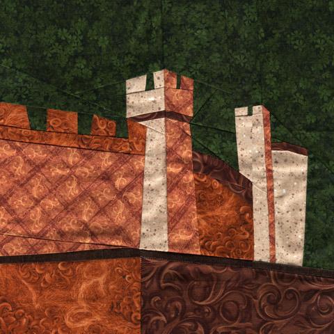 Wonky Castle Quilt Pattern - September