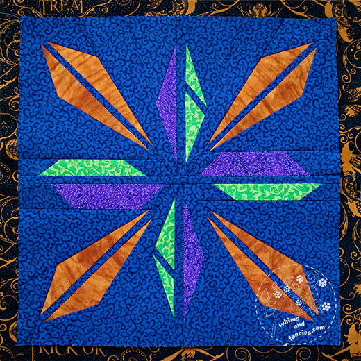 Shattered Star Quilt Pattern | Whims And Fancies