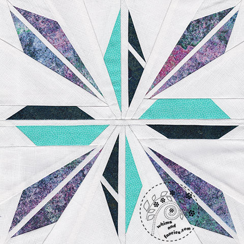 Shatter Star Quilt Pattern | Whims And Fancies