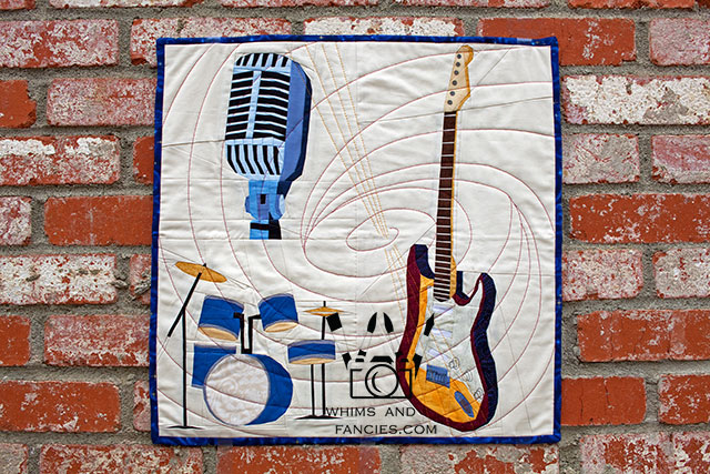 Musical Instruments Quilt Pattern | Whims And Fancies