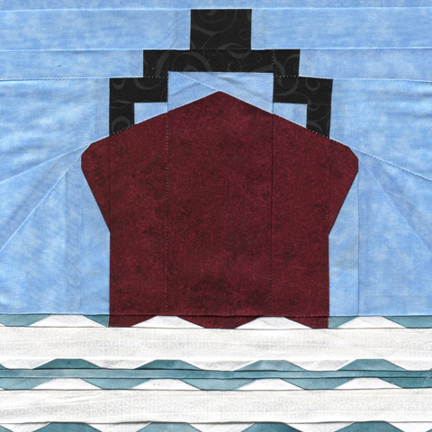 Board A Ship - Cab Or Car - Travel Pattern Paper Piecing