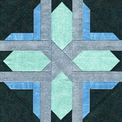 Twilight Star Quilt Pattern | Whims And Fancies