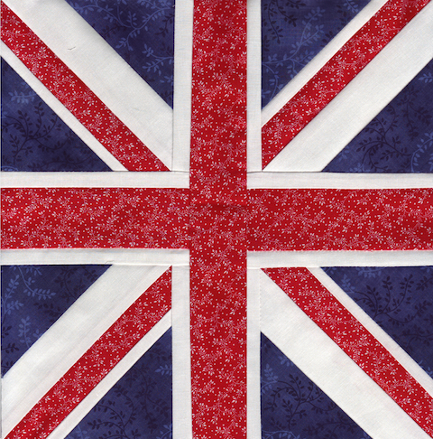 The Union Jack Paper Pieced