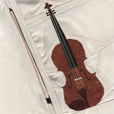 Violin Quilt Pattern | Whims And Fancies
