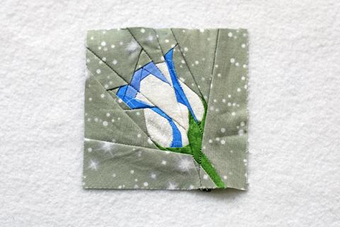 Winter Rose - Paper Piecing Pattern