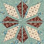 Aran Star Quilt Pattern
