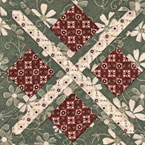 Argyle Star Quilt Pattern